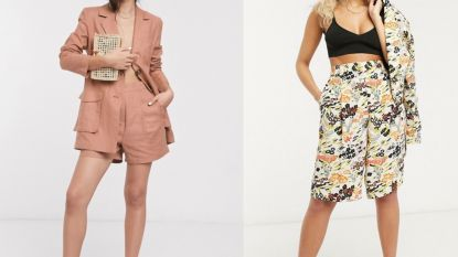 Less is more: de short suit wordt hét mode-item van de zomer