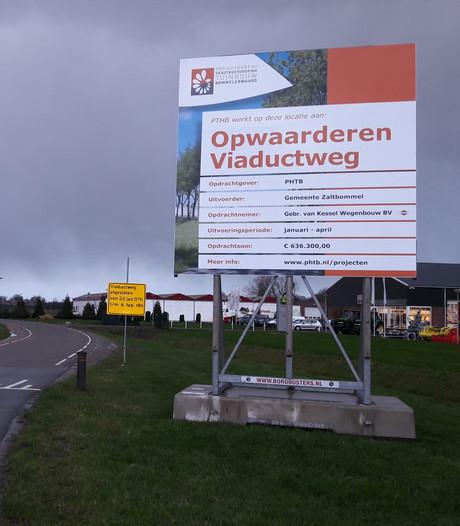 Verschillende wegen in gemeente Zaltbommel verbreed in kader herstructurering tuinbouw