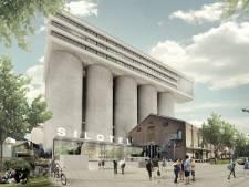 Hotel op silo's in Veghel wordt langzaam realiteit; bouw mogelijk door kraan in silo