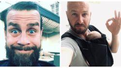 """Stan Van Samang en Sam Gooris hebben tegenwoordig een stevige baard: """"Een uit de hand gelopen weddenschap"""""""