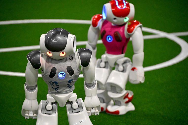 Beelden van het RoboCup-event in Australië.
