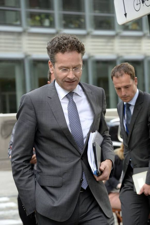 Jeroen Dijsselbloem, voorzitter eurogroep.