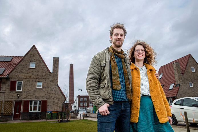 Ede telt enkele nieuwbouwwijken waardoor de stad nog steeds groeit. Marieke van der Heiden en haar vriend zijn vorig jaar in de Enkawijk komen wonen.