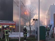 Brand IJsselstein lijkt voorafgegaan door overval