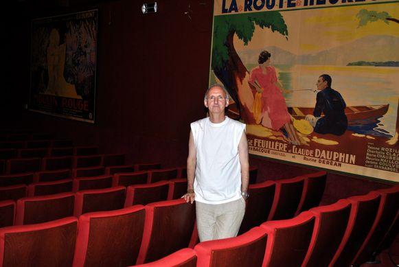 Eigenaar Walter Vander Cruysse in de grote zaal van Studio Skoop