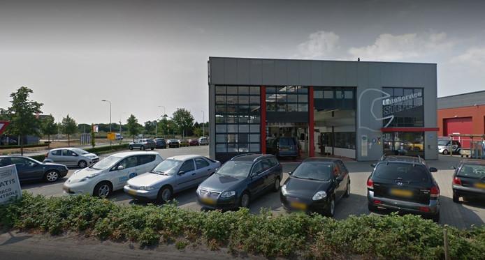 Het autobedrijf in Haaksbergen