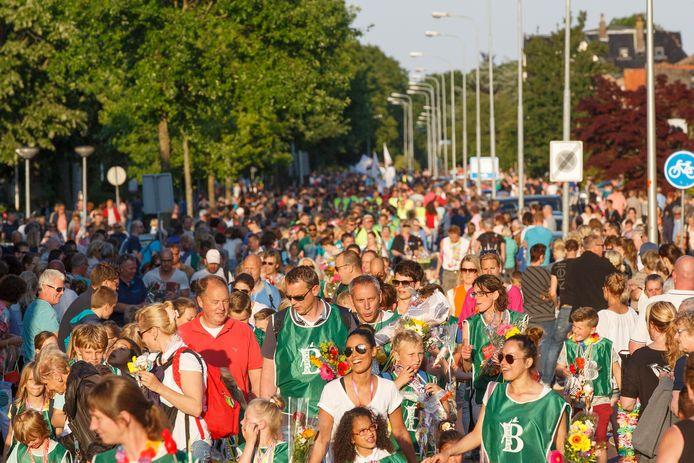 Duizenden wandelaars en veel publiek, dat risico wil de organisatie van de Steenwijker avondvierdaagse dit jaar niet nemen