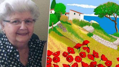 Geduld is een mooie deugd: deze oma (87) maakt de gekste schilderijtjes... met Paint