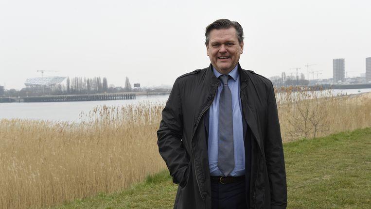 Antwerps schepen voor Ruimtelijke Ordening Rob Van de Velde (N-VA).