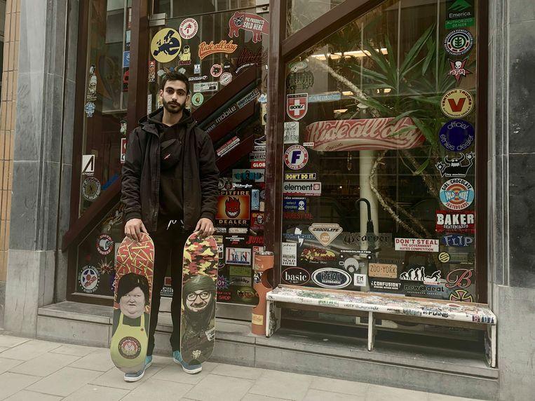 Samy is vaste klant bij Ride All Day en kent die boards heel goed