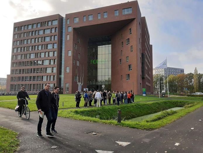 Het Forumgebouw op de Wageningen Campus.