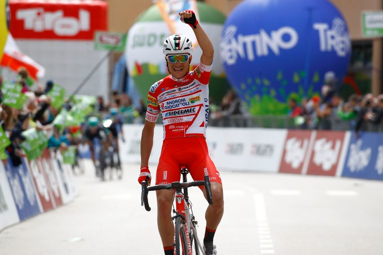 Fausto Masnada won ook rit 3.