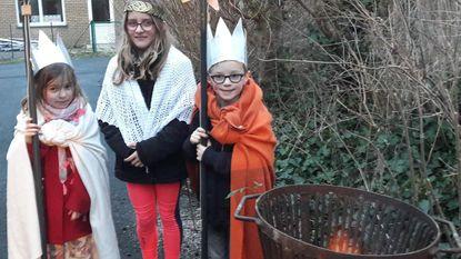Mats, Marie en Zita zijn lokale Drie Koningen