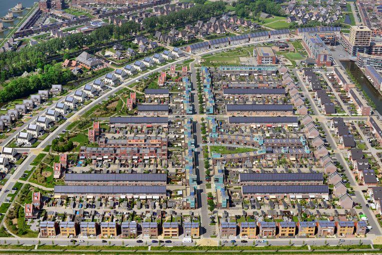 In 2016 werden 78 duizend koopwoningen omgezet in huurwoningen, aldus het CBS. Beeld Raymond Rutting / de Volkskrant