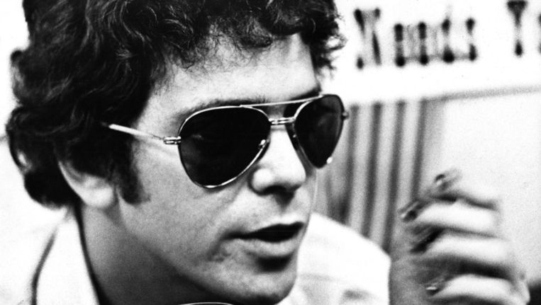 Lou Reed in 1975 Beeld getty