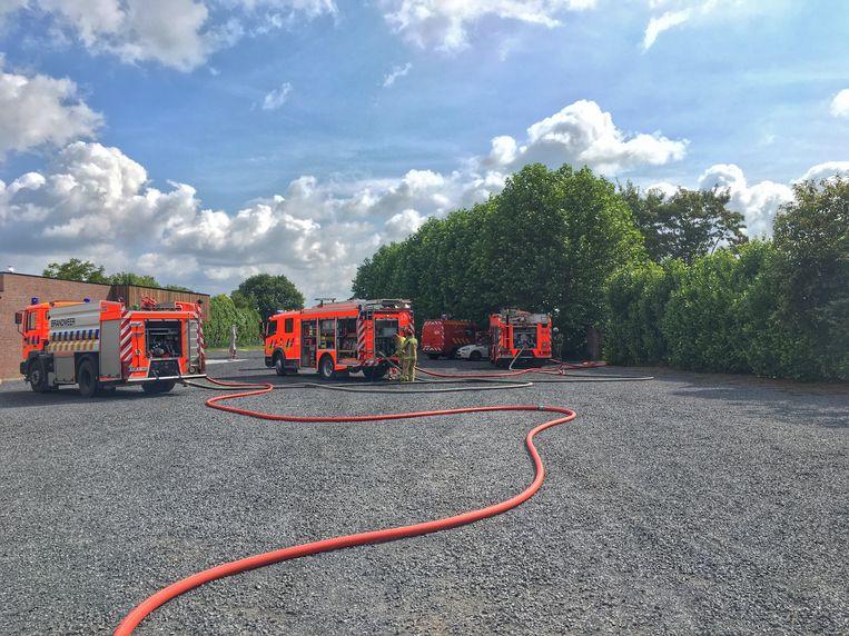 De brandweer had de situatie relatief snel onder controle.