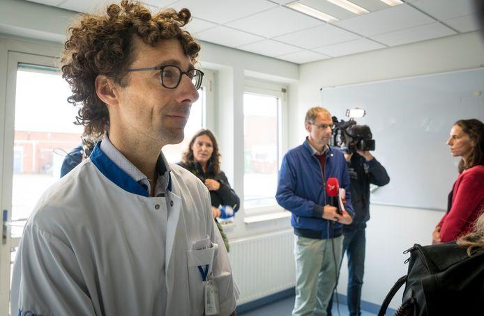 Gynaecoloog Giel van Stralen.