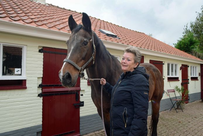 Conny Nederveen met Kasimir