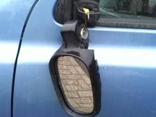 Spiegels van auto's getrapt in Nijkerk
