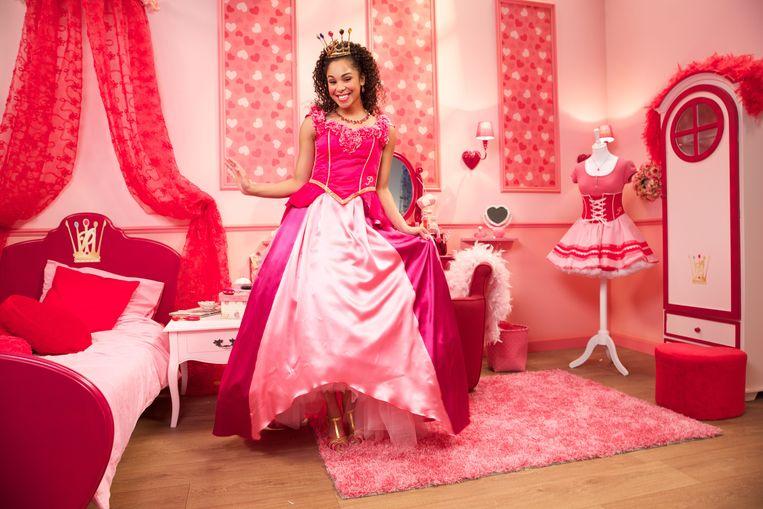 Désirée Viola vertolkte de rol van prinses Roos in 'Prinsessia'