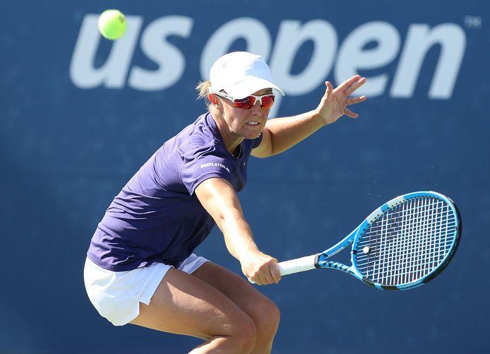 Kirsten Flipkens en quart de finale en Corée du Sud.