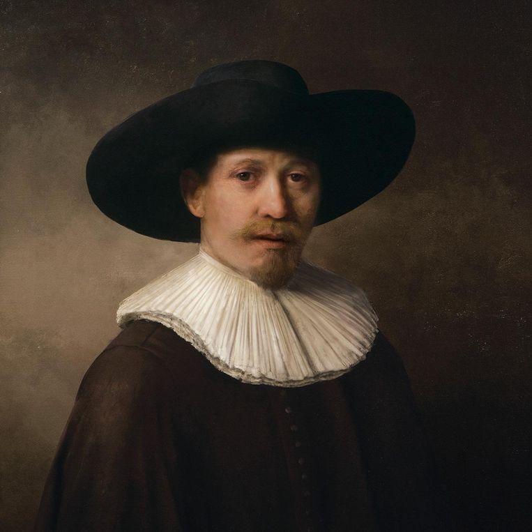 Een door de computer gemaakt schilderij in de stijl van Rembrandt Beeld the Next Rembrandt