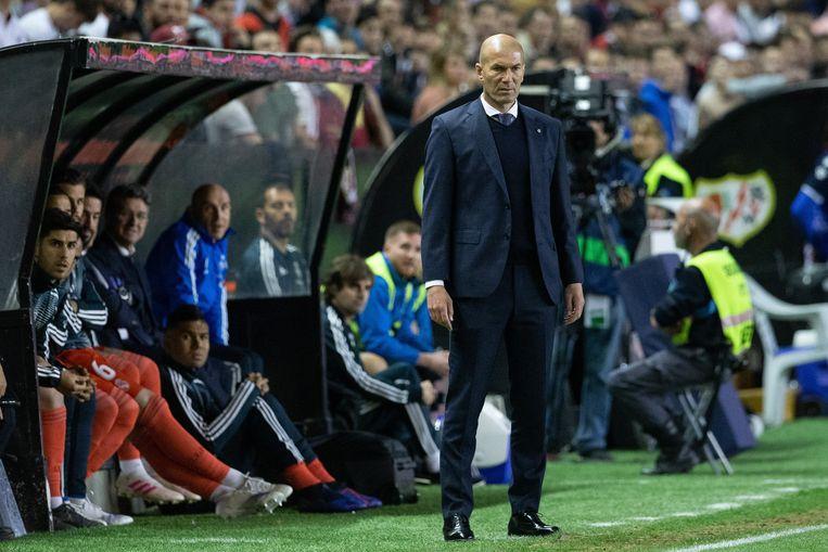 Zidane was na afloop hard voor Bale.