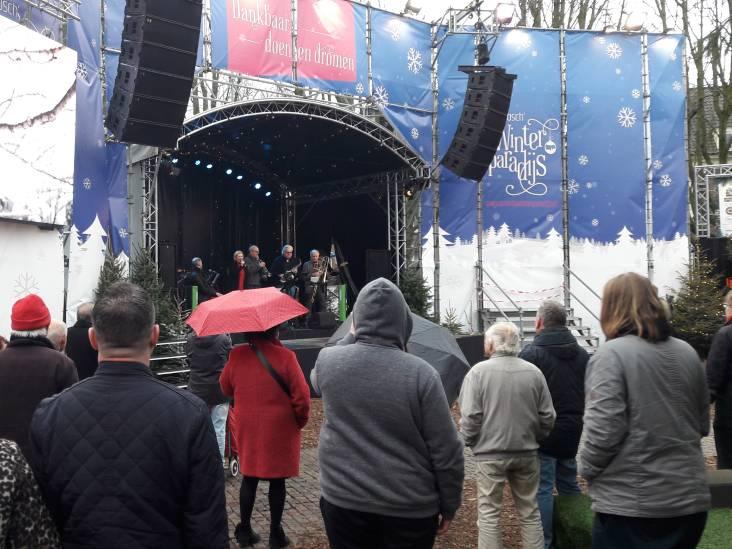 Niet de kerstboom, maar het  podium trekt winterevenement in Den Bosch