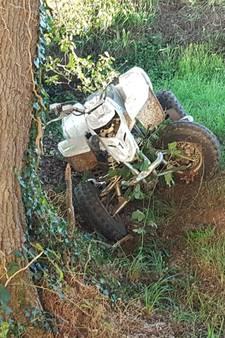 Jongen per traumaheli naar ziekenhuis na ongeluk met quad in Saasveld