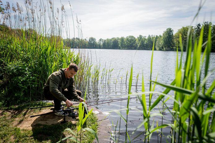 Vissen in Oldenzaal is steeds populairder geworden ten tijde van corona.