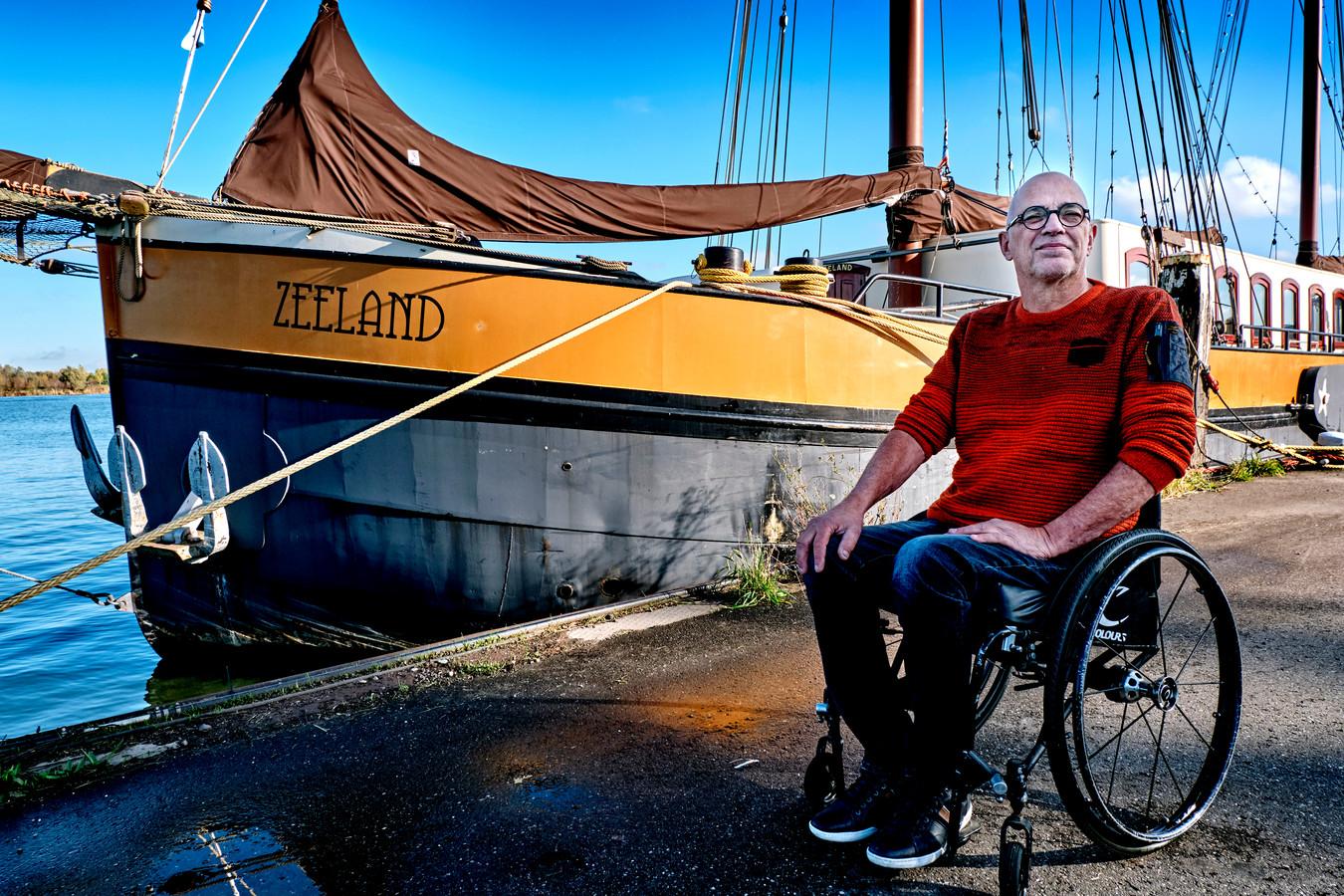 Zeilcharterschip De Zeeland gaat de komende tijd steeds meer focus leggen op ouderen en mensen met een beperking.