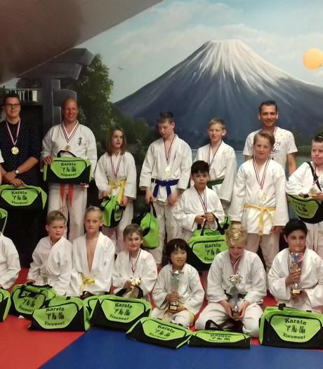 Karatevereniging Mu-Chin viert 40-jarig jubileum
