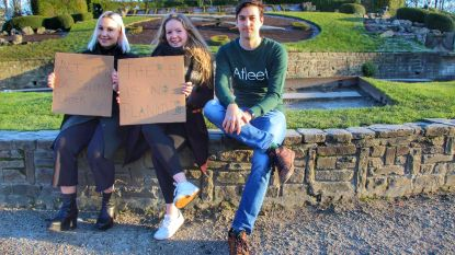 Jongeren zetten eigen klimaatmars op poten