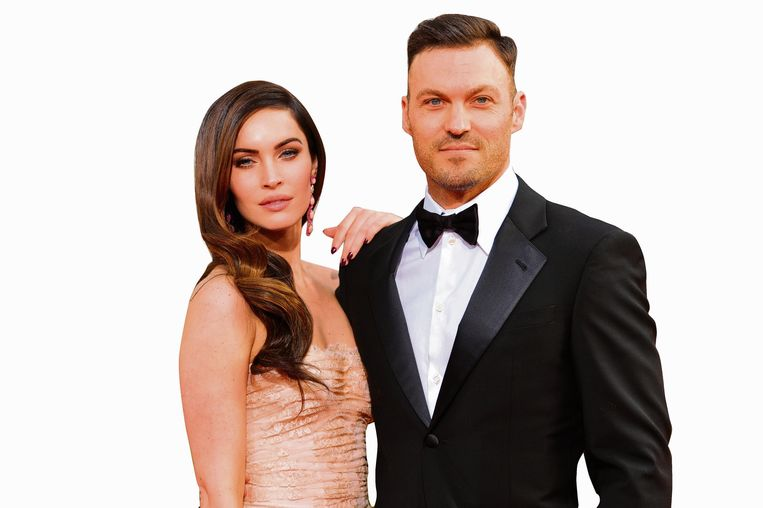 Megan Fox (32) en Brian Austin Green (45)