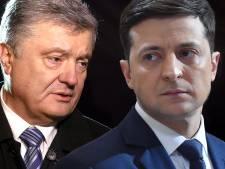 Zelenski nieuwe president Oekraïne door reusachtige overwinning