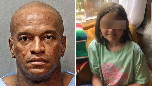 Michael Webb (51) is veroordeeld tot levenslang voor de ontvoering van het achtjarig meisje. Haar naam is niet vrijgegeven. De politie verspreidde tijdens de opsporing deze (nu onherkenbare) foto.