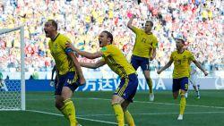 Matig Zweden legt Zuid-Korea over de knie na strafschop via VAR