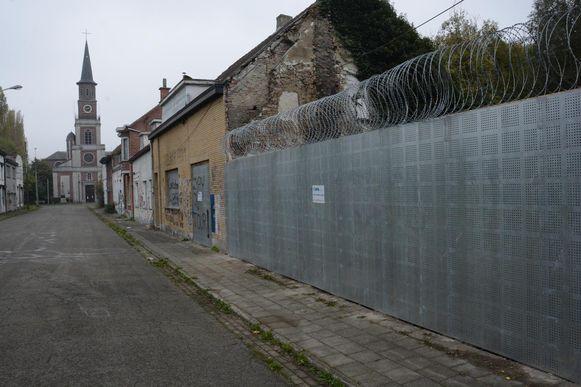 Het verlaten dorp. Volgens Weyts zal er in de toekomst opnieuw ruimte voor bewoning zijn.