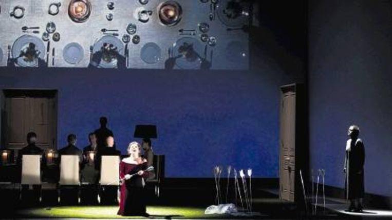 De eerste scenische uitvoering van 'Hippolyte' in Nederland is bijzonder geslaagd. (Marco Borggreve) Beeld