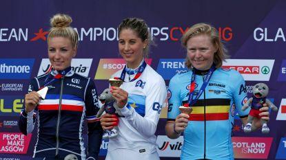 """Githa Michiels knalt naar derde plaats op EK mountainbike: """"Dit is een droom die uitkomt"""""""