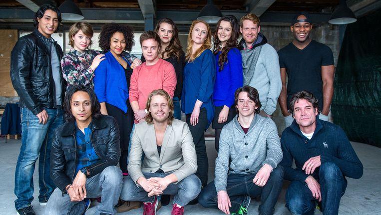 De cast van Startup Beeld ANP