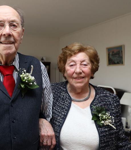 Echtpaar De Bruijn 65 jaar samen, 'zonder ooit ruzie te hebben'