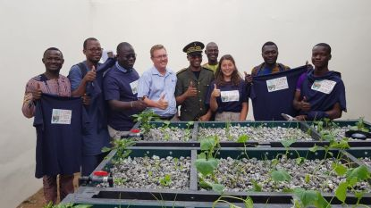 Leuvense stichting 'Hubi & Vinciane' opent gloednieuw innovatiecentrum in Benin