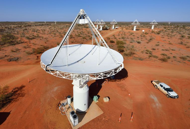 De Australia Square Kilometre Array Pathfinder of ASKAP