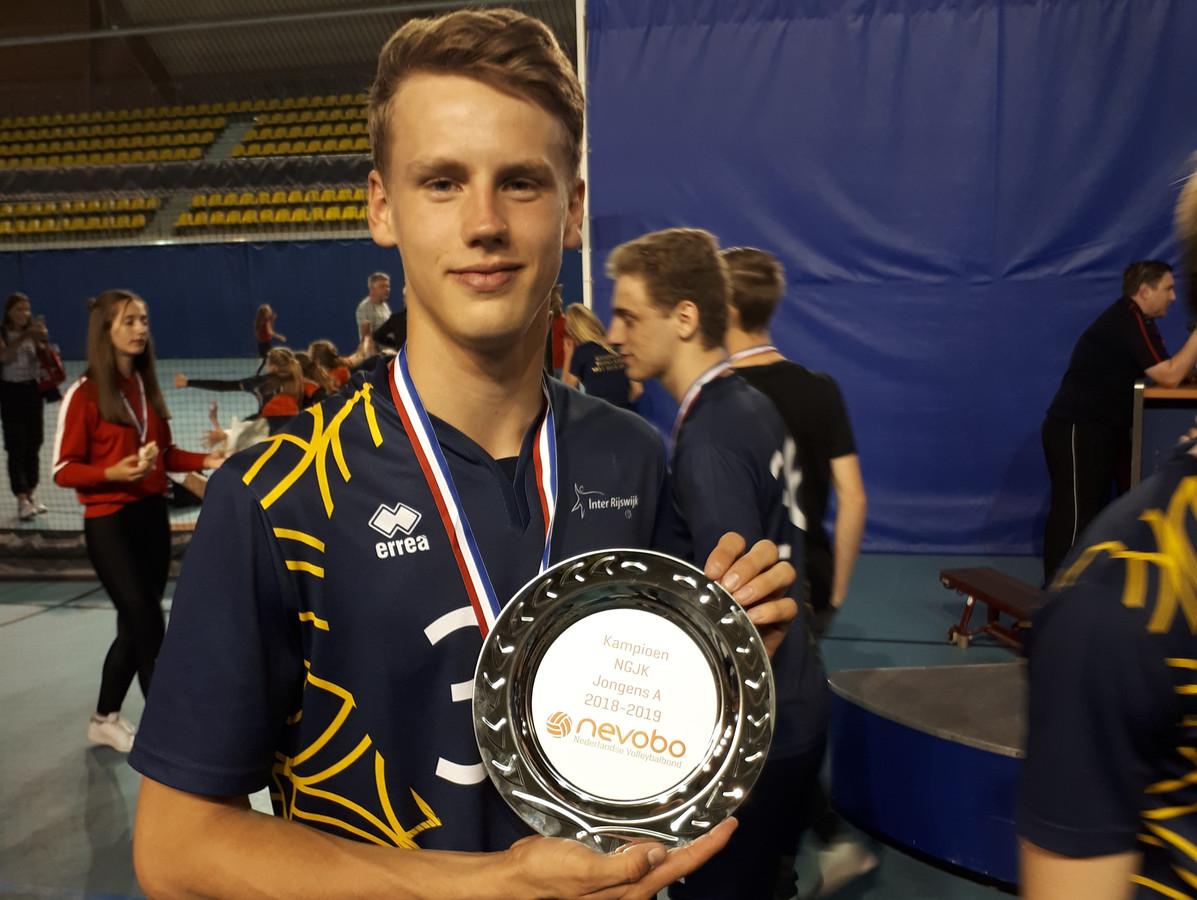 Sam van der Loo opnieuw kampioen