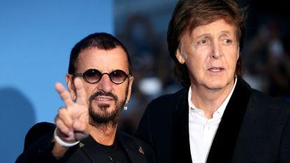 """Ex-Beatles Ringo Starr en Paul McCartney nemen samen nummer op: """"Eigenlijk staan alle Beatles er op"""""""