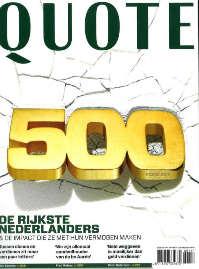 Quote 500 Lijst Pdf.Dit Zijn De 20 Rijkste Twentenaren Dik Wessels Overleden