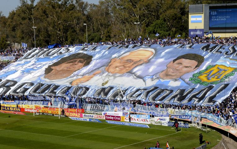 Populair in Argentinië, net als Maradona en paus Franciscus.
