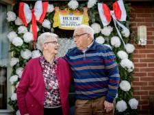 Appie en Gerri uit Markelo zijn al 65 jaar gelukkig getrouwd: 'maar de jaren gaan tellen'