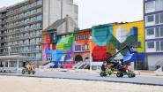 Nog even genieten van vijf kleurige villa's langs Zeedijk (want sloop staat volgend jaar gepland)